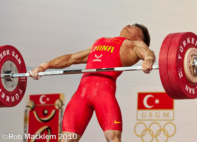 Wu Jingbiao CHN 56 kg Olympic weightlifter